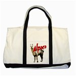 Alpaca Two Tone Tote Bag