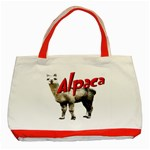 Alpaca Classic Tote Bag (Red)