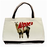 Alpaca Classic Tote Bag (Two Sides)