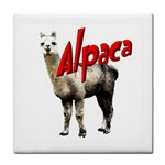 Alpaca Face Towel