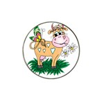 Cute cow Hat Clip Ball Marker (10 pack)