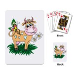 Cute cow Playing Cards Single Design