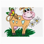 Cute cow Glasses Cloth (Large)