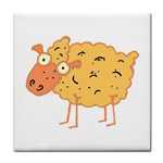 Funky sheep Tile Coaster