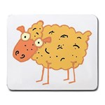 Funky sheep Large Mousepad