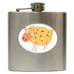 Funky sheep Hip Flask (6 oz)