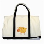 Funky sheep Two Tone Tote Bag