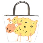 Funky sheep Bucket Bag