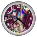 Design 10 Wall Clock (Silver)
