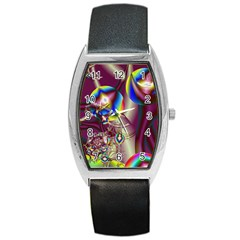 Design 10 Barrel Style Metal Watch from ArtsNow.com Front
