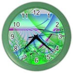 Foal 2 Color Wall Clock