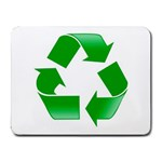 Recycle sign Small Mousepad