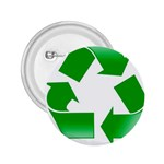 Recycle sign 2.25  Button