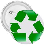 Recycle sign 3  Button
