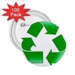 Recycle sign 2.25  Button (100 pack)