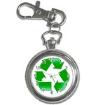 Recycle sign Key Chain Watch