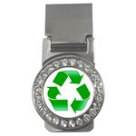 Recycle sign Money Clip (CZ)