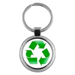 Recycle sign Key Chain (Round)