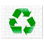Recycle sign Jigsaw Puzzle (Rectangular)