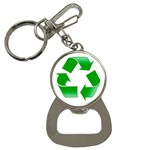 Recycle sign Bottle Opener Key Chain