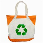 Recycle sign Accent Tote Bag