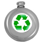 Recycle sign Hip Flask (5 oz)