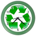 Recycle sign Color Wall Clock