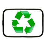 Recycle sign Netbook Case (Medium)