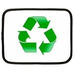 Recycle sign Netbook Case (Large)