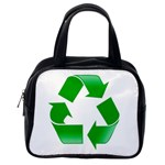 Recycle sign Classic Handbag (One Side)