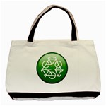 Green recycle symbol Classic Tote Bag