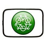 Green recycle symbol Netbook Case (Medium)