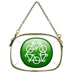 Green recycle symbol Cosmetic Bag (One Side)