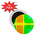 Golf Course 1.75  Magnet (10 pack)