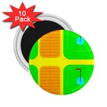 Golf Course 2.25  Magnet (10 pack)