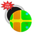 Golf Course 2.25  Magnet (100 pack)