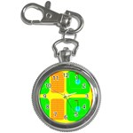 Golf Course Key Chain Watch