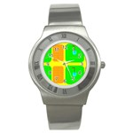 Golf Course Stainless Steel Watch