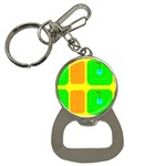 Golf Course Bottle Opener Key Chain