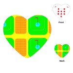 Golf Course Playing Cards (Heart)