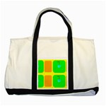 Golf Course Two Tone Tote Bag