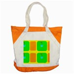 Golf Course Accent Tote Bag