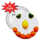 Fruit smile 2.25  Button (10 pack)