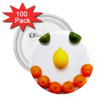 Fruit smile 2.25  Button (100 pack)