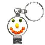 Fruit smile Nail Clippers Key Chain