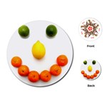 Fruit smile Playing Cards (Round)