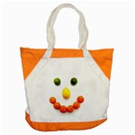 Fruit smile Accent Tote Bag