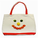 Fruit smile Classic Tote Bag (Red)