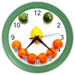 Fruit smile Color Wall Clock