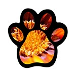 Annual Zinnia Flower   Magnet (Paw Print)